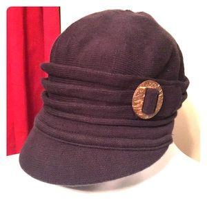 Parkhurst Soft knit Blue Cap Hat Cover
